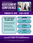 2020 Assessment Conference