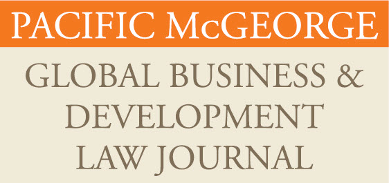 Global Business & Development Law Journal