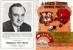1950 Football program by Holt-Atherton Special Collections, University of the Pacific