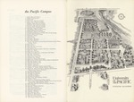 1960s: Map of campus by Catalog of Classes