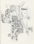 1980s: Map of campus by Catalog of Classes
