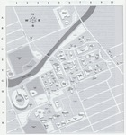1990s: Map of campus by Catalog of Classes