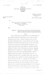 Letter RE: Collaboration between the Bangalore University and Callison College of the University of the Pacific by Office of the Registrar, Bangalore University