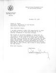 Letter from Arthur J. Goldberg to Robert E. Burns RE: Callison College