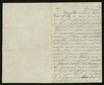 Letter from Norton T. .Worcester to Parents, [1864] March 27 by Norton T. Worcester