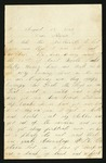 Letter from Norton T. .Worcester to Parents, 1864 August 17 by Norton T. Worcester