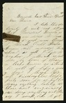 Letter from Norton T. .Worcester to Parents, after April 15, 1865 by Norton T. Worcester
