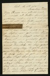 Letter from Norton T. .Worcester to Parents, 1865 October 5 by Norton T. Worcester