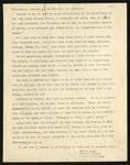 Mae Furuzawa Graduation Address, 1944