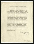 Report of Work Done by Mrs. Marguerite Cook from the Time of Segregation to the Opening of School February First, [February 1944]