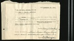 Absence Form from Mary C. Durkin Principle Elementary School to Mr. and Mrs. Akinaga, November 24, 1944