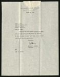 Letter from Charles S. Morris, President, San Mateo Junior College to Guy Cook [re: diploma of a Mr. Takashita], March 25, 1946