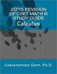 2015 Revision of CSET Math III Study Guide: Calculus
