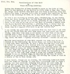 Reminiscence of John Muir by Grace Sterling Lindsley