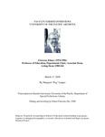 Clawson, Elmer Oral History Interview