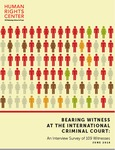 Bearing Witness at the International Criminal Court: An Interview Survey of 109 Witnesses