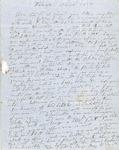 Letter from C. G. Ellis to Austin W. Ellis [Son], 1850 Nov. 18 by C. G. Ellis