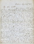 Letter from Augustin Hibbard to [William Hibbard] 1853 Aug. 27