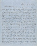 Letter from Augustin Hibbard to [William Hibbard] 1854 April 12 by Augustin Hibbard