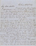 Letter from Augustin Hibbard to [William Hibbard] 1854 Oct. 12