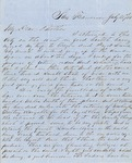 Letter from Augustin Hibbard to [William Hibbard] 1856 July 21