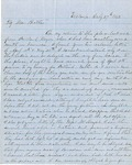 Letter from Augustin Hibbard to [William Hibbard] 1862 July 27 by Augustin Hibbard
