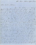 Letter from Augustin Hibbard to William [Hibbard] 1865 Apr. 18
