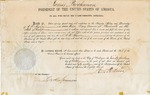 Postmaster Appointment for A. H. Spence to Placerville, 1858 Oct. 21