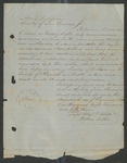 Claim of Patrick Ford for Losses by Klamath Indians, 1853 by Patrick Ford