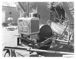 Agricultural Machinery - Calif - Stockton: Harris Manufacturing Co., Featuring an engine