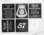 Advertising - Stockton: Advertisement for Heinz 57 Mustard Sauce
