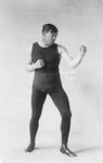 Boxing - Stockton: Portrait of boxer Jack Drumgcole