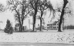 Dwellings - Stockton: [Residence of Adello Coburn east of College of the Pacific campus] 3640 Pacific Ave. by [Alpha Chi Omega Sorority]