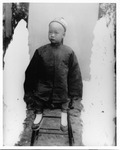 Chinese - Stockton: Portrait of unidentified young Chinese boy