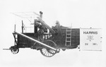 Combines (Agricultural Machinery) - Stockton: Combined Harvester manufactured by Harris Manufacturing Co.
