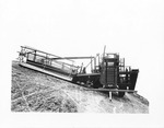 Combines (Agricultural Machinery) - Stockton: Holt side-hill combine on a slope