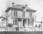 Dwellings - Stockton: [Home of Robert McKee, two boys in front, Hunter St.]