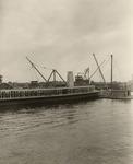 Stockton - Harbors - 1930s: Freight ship at dock