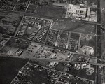 Stockton - Views - 1960 - 1980: Aerial, military housing on Navy Dr. and Charter Way by Leonard Covello