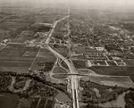 Stockton - Views - 1960 - 1980: Aerial, looking north