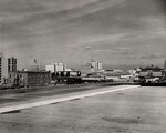 Stockton - Views - 1960 - 1980: Downtown panorama, looking northeast. by Leonard Covello