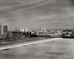 Stockton - Views - 1960 - 1980: Downtown panorama, looking northeast.