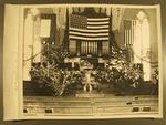 Stockton - Churches - Presbyterian: Presbyterian Church Altar