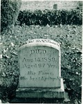 Stockton - Sepulchral Monuments: Grave of David S. Terry, Rural Cemetery by Leonard Covello