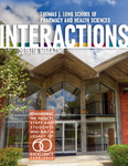 Interactions 2015 by Thomas J. Long School of Pharmacy and Health Sciences