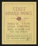 Staff Dinner Dance