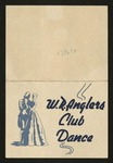 WRAnglers Club Dance Invitation