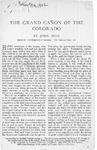 The Grand Canon Of The Colorado.