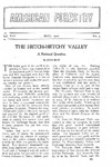 The Hetch-Hetchy Valley, A National Question.
