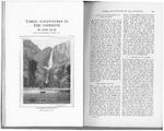 Three Adventures in the Yosemite